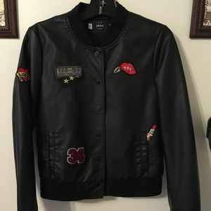 ONLY synthetic leather jacket